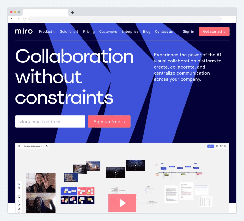 Miro website
